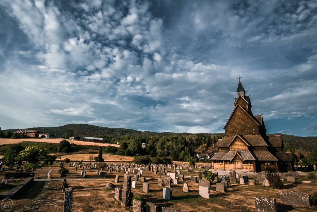 Kościół klepkowy Norwegia - Heddal Stave Church