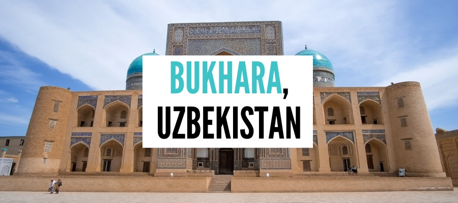 THINGS to do in Bukhara Uzbekistan cover