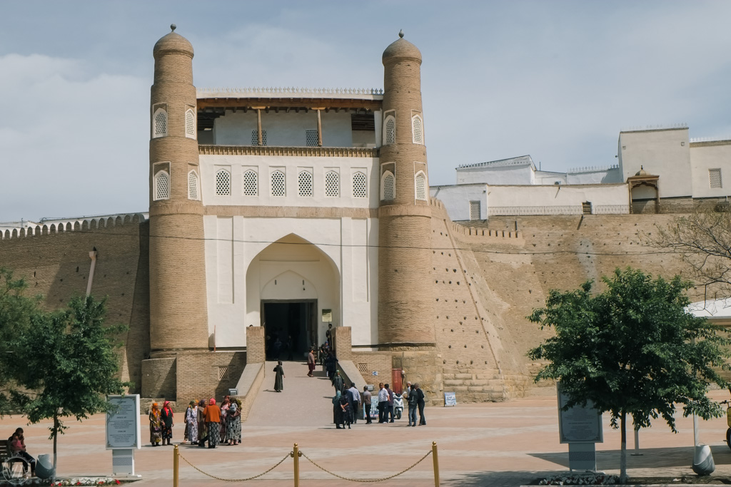 Visiting Bukhara fortress – the Ark is one of the top things to do in Bukhara, Uzbekistan