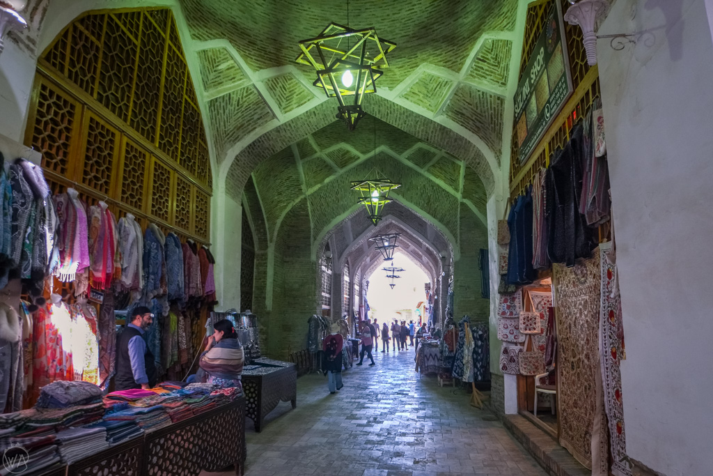Inside of the Bukhara Covered Bazaars, Uzbekistan