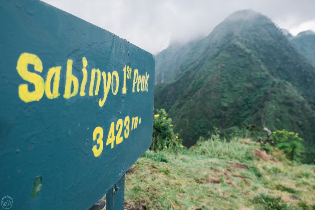Mount Sabyinyo first peak, Uganda