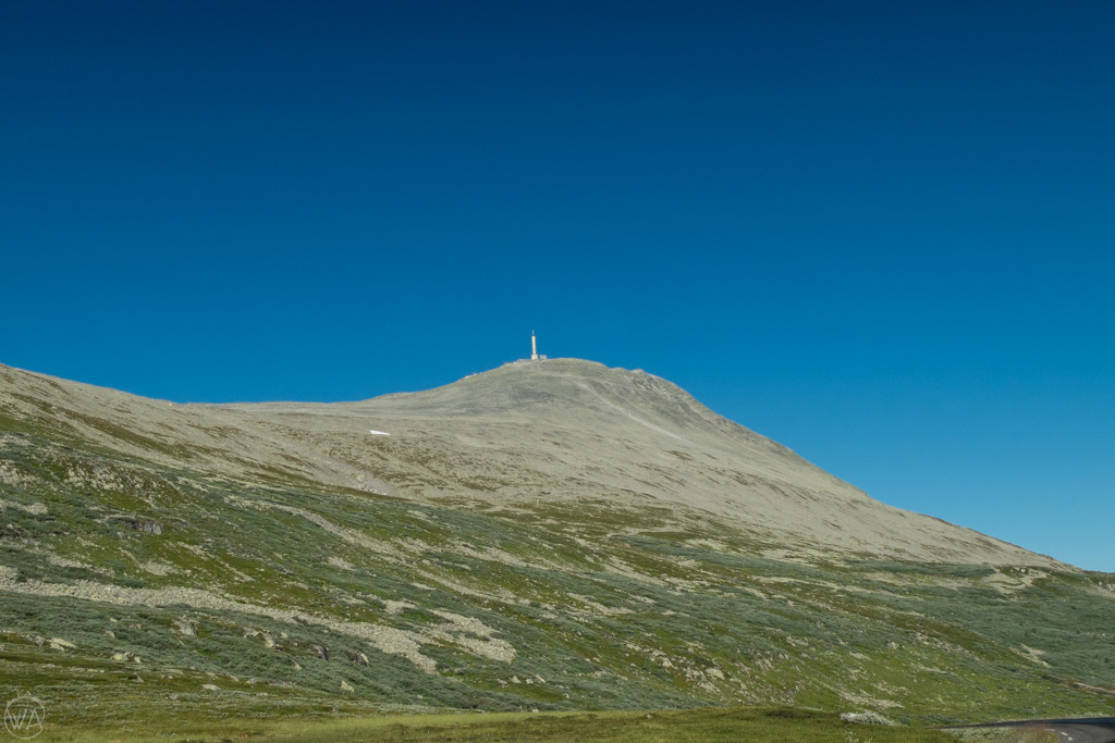 Gaustatoppen, Rjukan in the summer, Norway