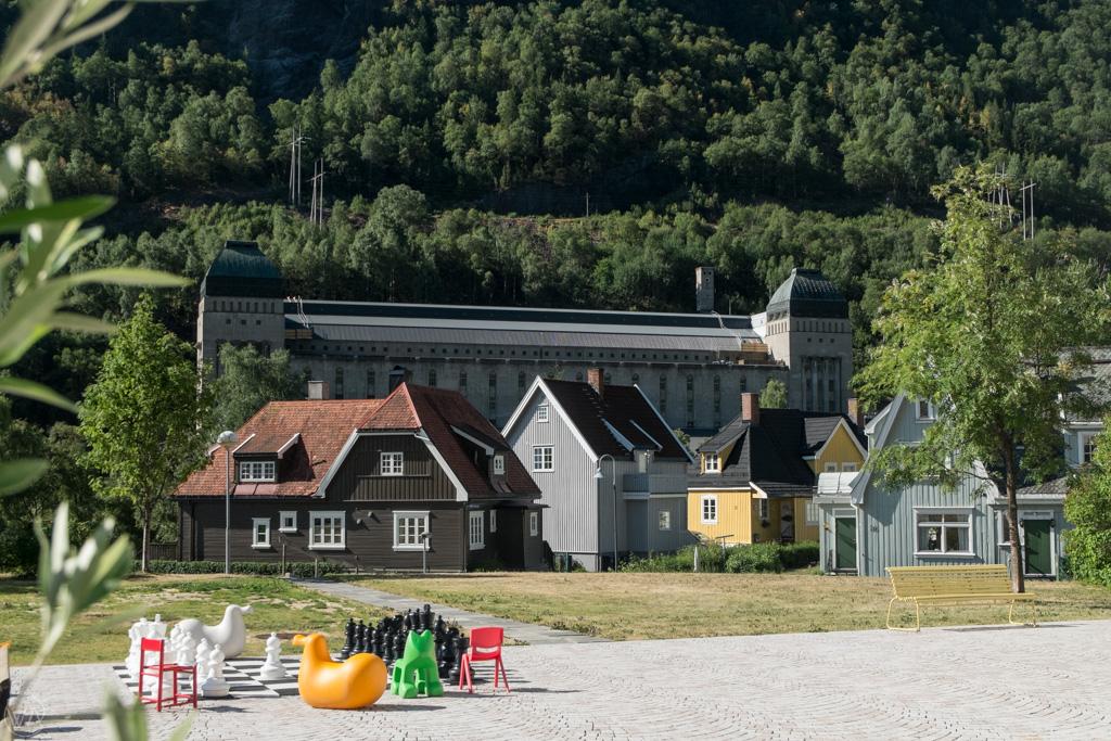 Vemork muzeum, Rjukan