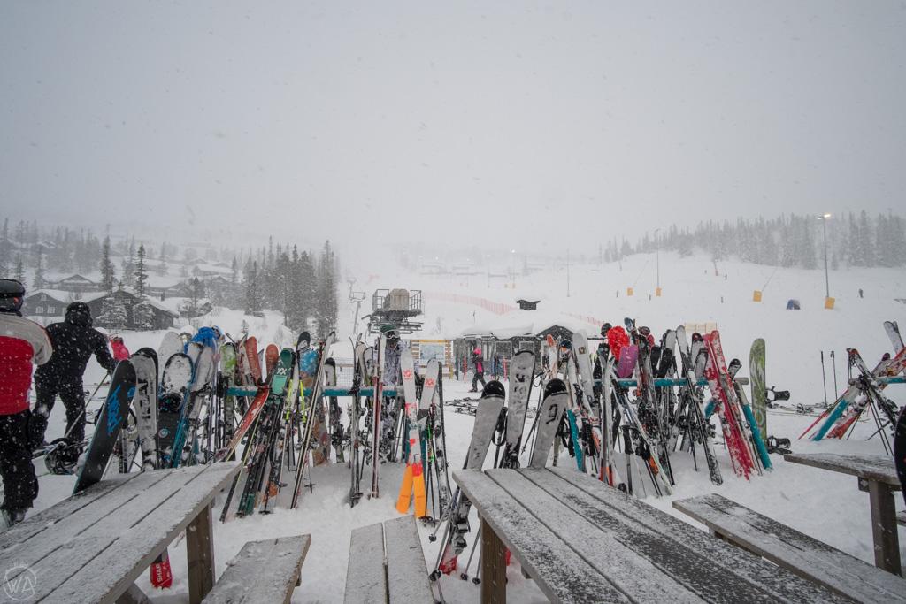 Ośrodek narciarski Gaustablikk, Rjukan, Norwegia