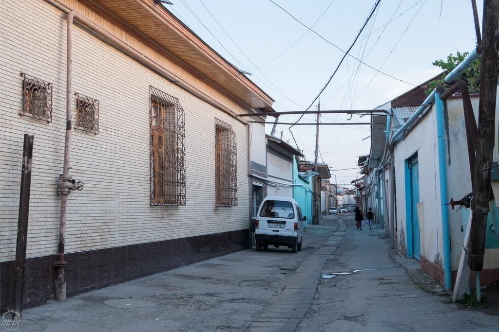 Backstreets of Samarkand, Uzbekistan