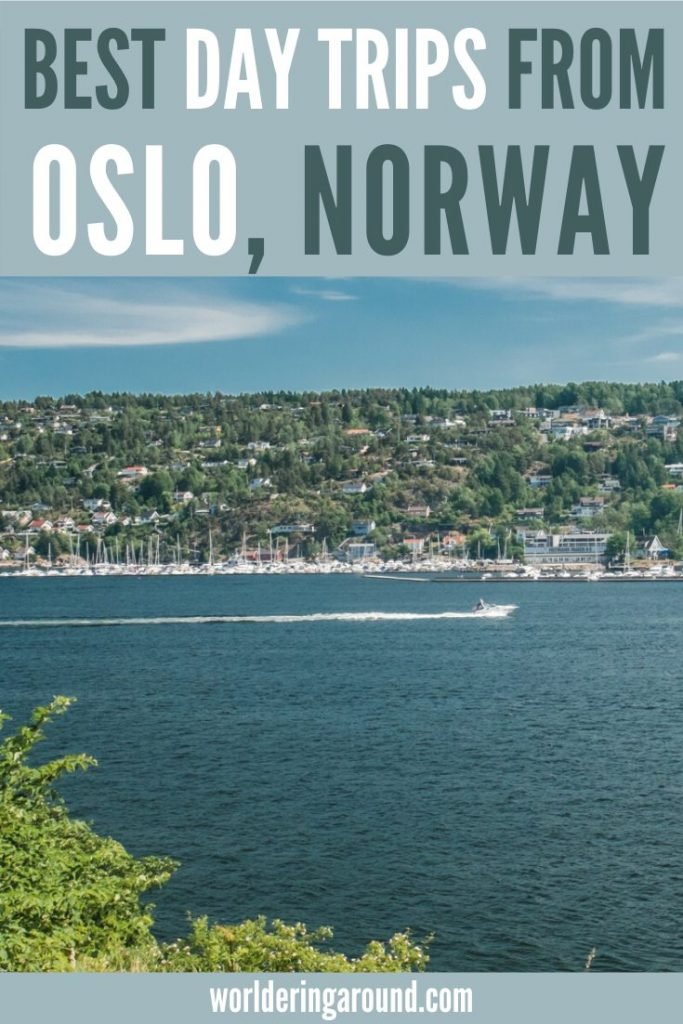 19 ideas for the best day trips from Oslo, Norway. Go for a day adventure from Oslo, relax on the beach or discover historical and cultural monuments. | Worldering around #Norway #oslo #travel #scandinavia