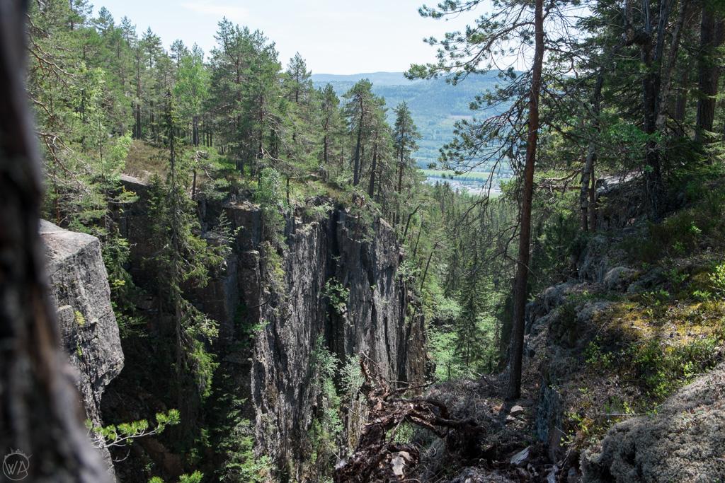 Canyon in Drammen (Kjøsterudjuvet i Gamledammen)