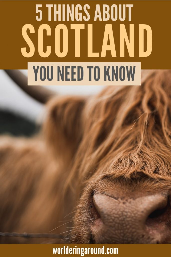 Important things about Scotland you need to know before you visit! Travel Scotland with no surprises, visit Scotland in the best way, learn about Scotland, and the UK. What you need to know before you travel to Edinburgh, visit Inverness, hike Scotland Highlands, visit Glasgow, Isle of Skye travel #Scotland #Edinburgh #UK #Europe #travel #IsleofSkye