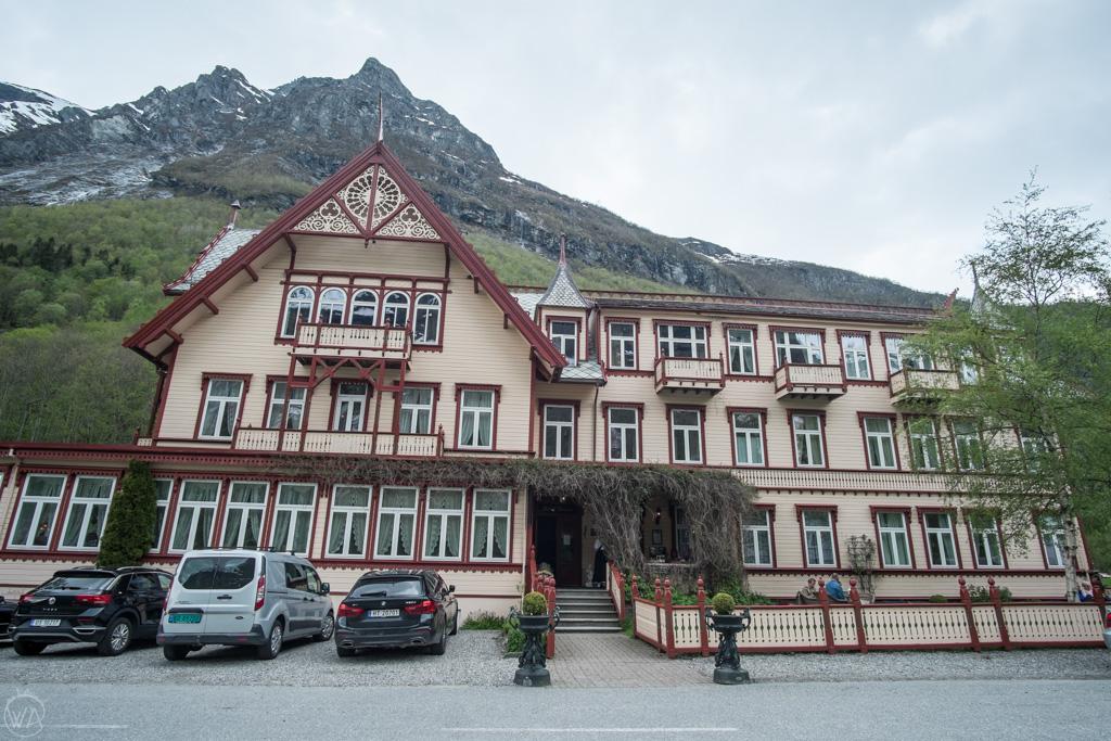 Hotel Union Øye, Summore Alps, Norway