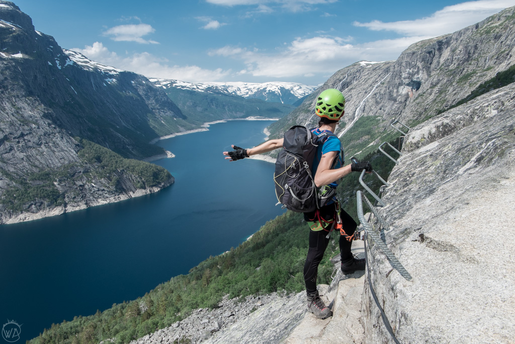 Trolltunga via Ferrata in Norway