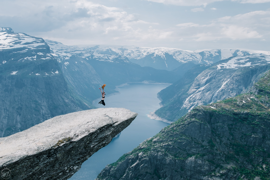 Trolltunga hike, Norway
