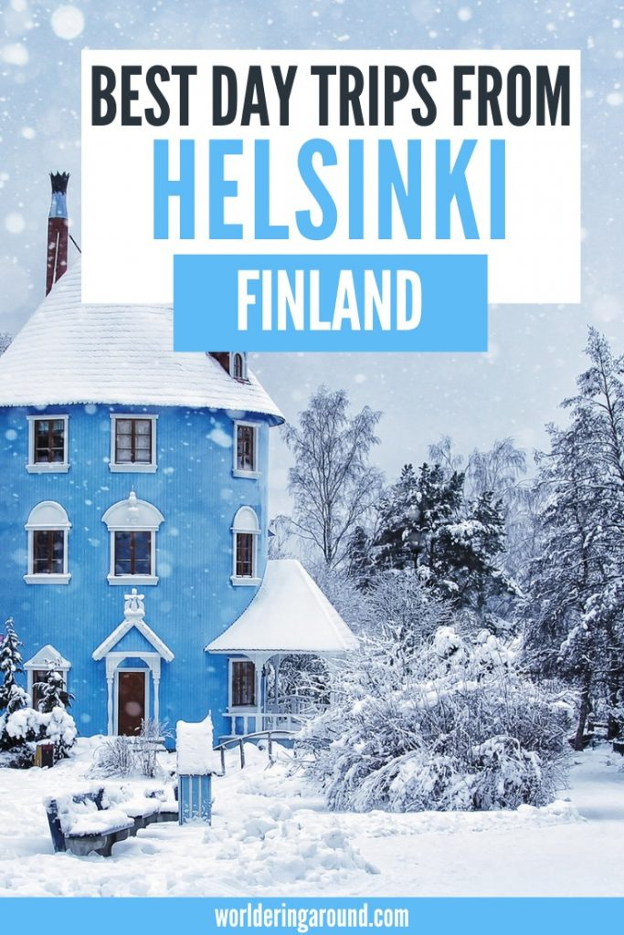 Best day trips from Helsinki, Finland by a local, plus detailed information on how to get there. Visit Finland, Helsinki and around | Worldering around #Helsinki #daytrips #finland #nuuksio #stpetersburg #tallinn #porvoo #Vallisaari #Suomenlinna