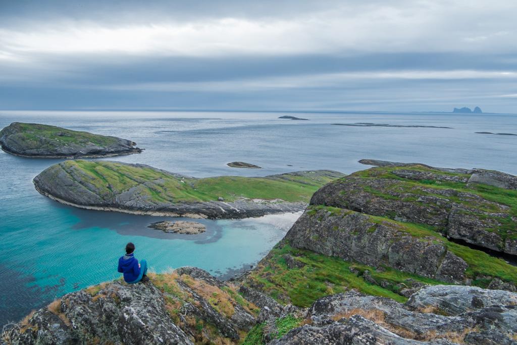 Lovund, Helgeland, Norway, beach