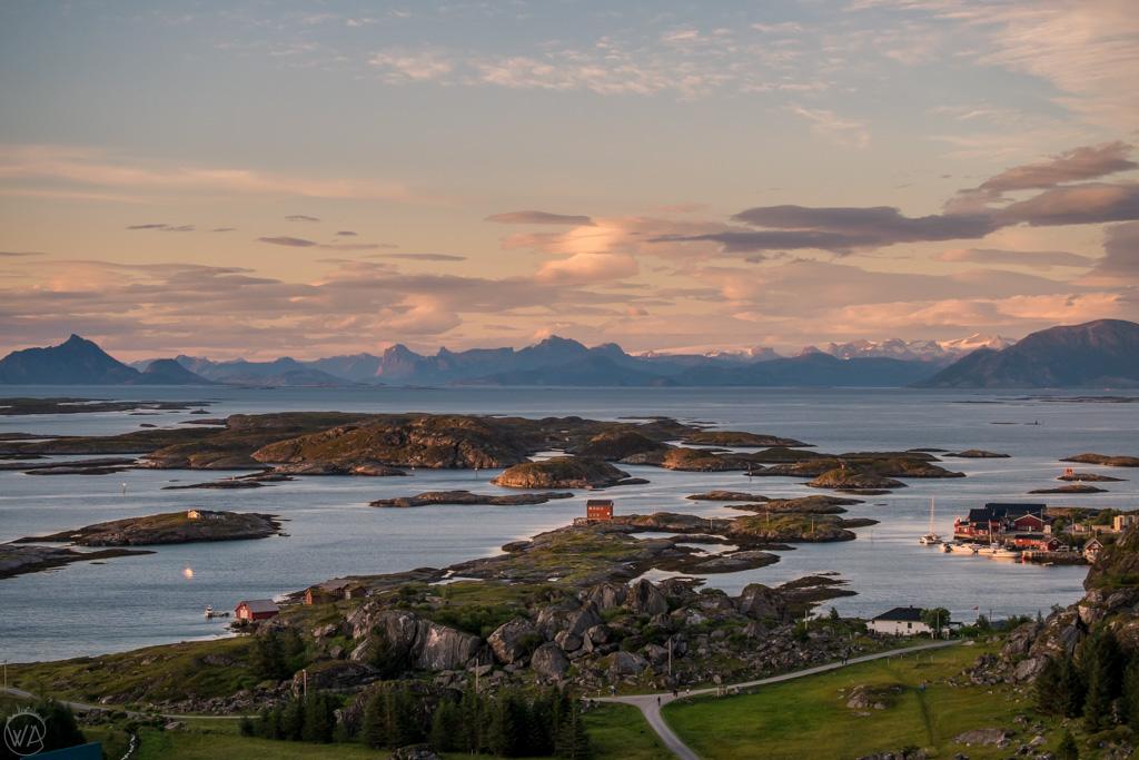 View to Lovund , Norway