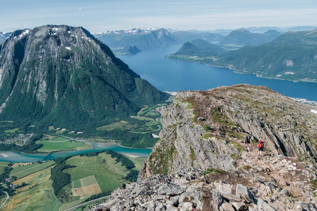 Hiking Romsdalseggen Ridge Norway