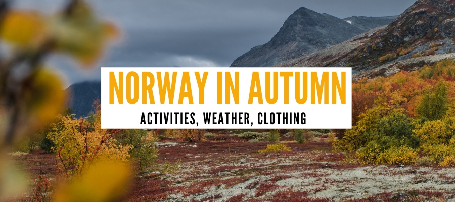 Norway in autumn cover