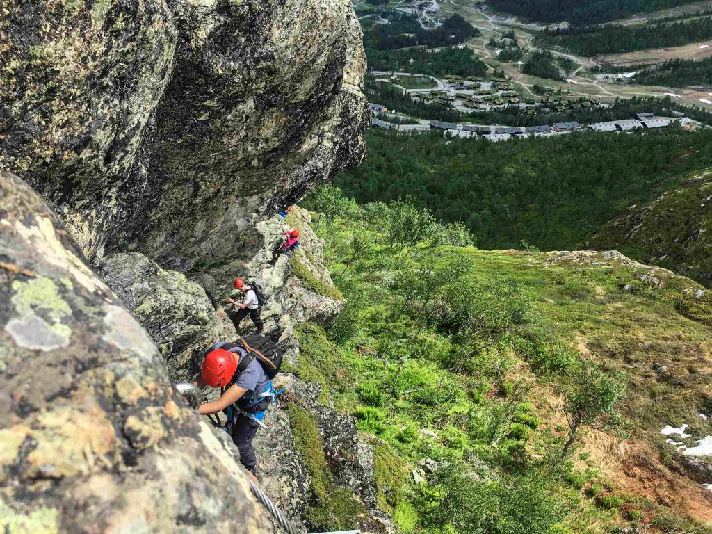 Hemsedal via Ferrata in Norway