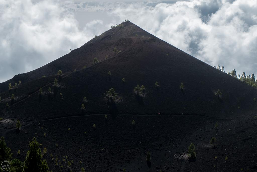 Volcano in La Palma