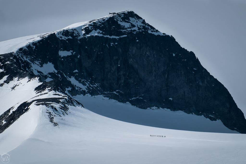 Galdhøpiggen, the highest mountain in Norway