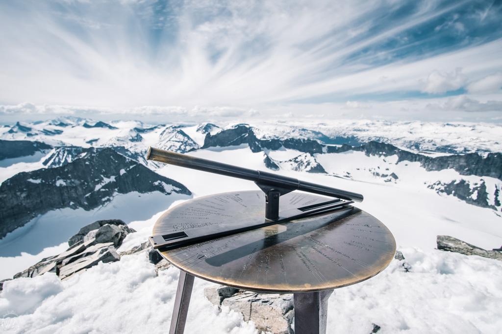 Top of Galdhøpiggen