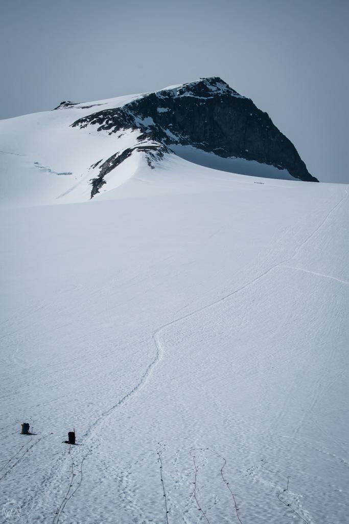 Galdhøpiggen glacier