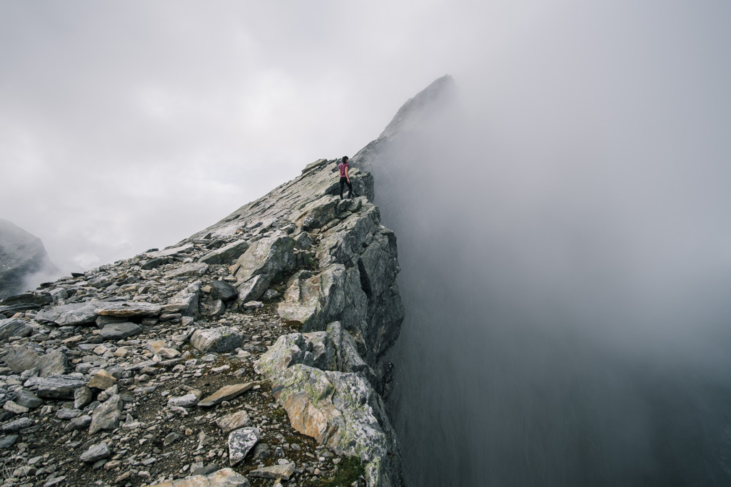 Ściana Trolli, Norwegia